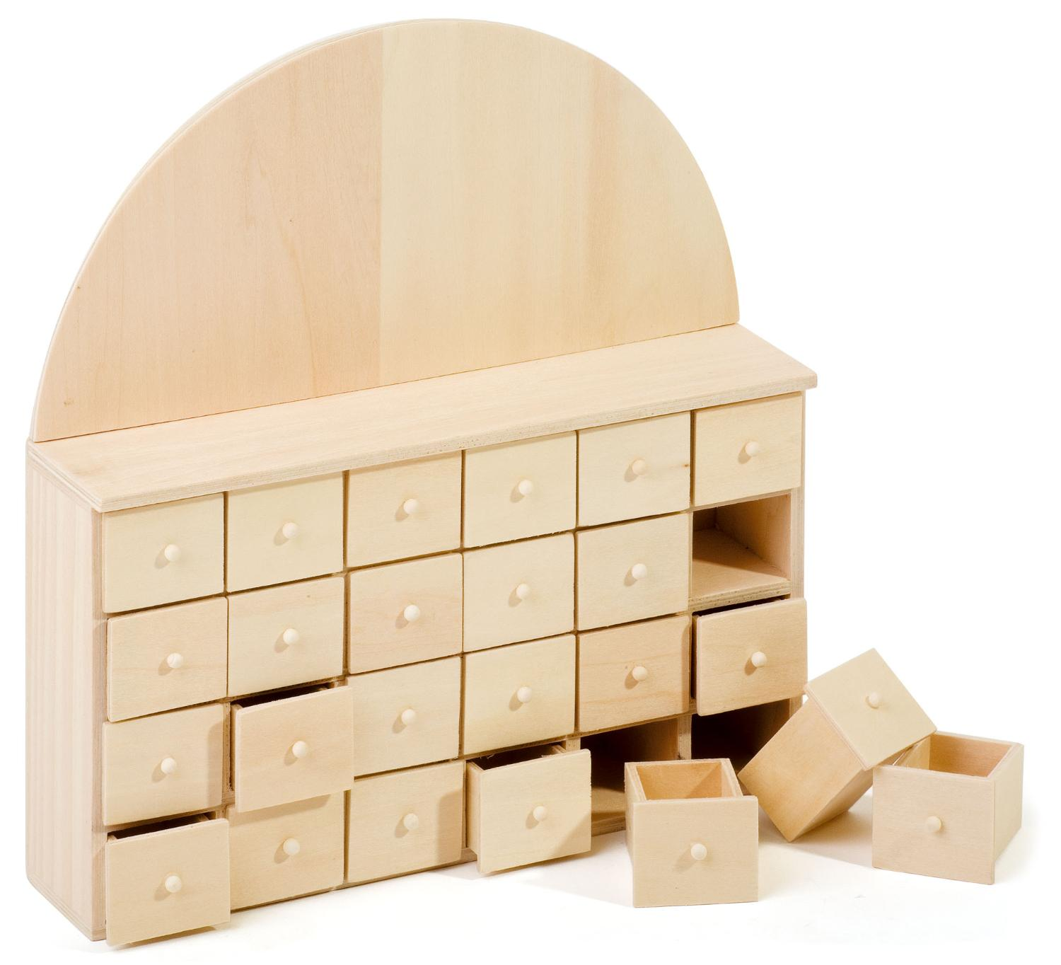 vbs adventskalender mit 24 sch ben aus holz vbs hobby bastelshop. Black Bedroom Furniture Sets. Home Design Ideas