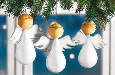 Weisse Weihnachten Deko Trend Vbs Hobby
