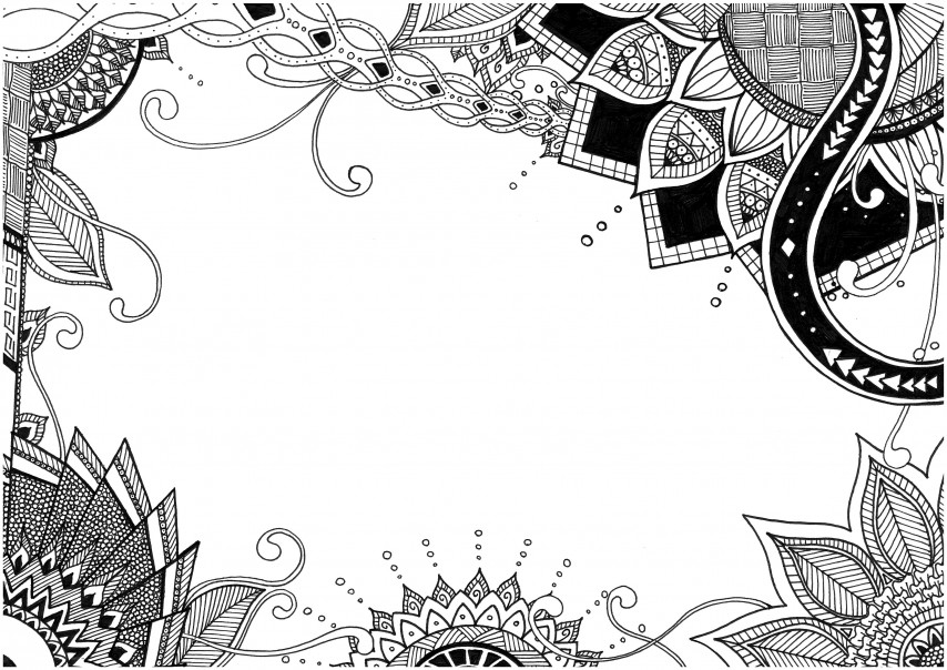 Zentangle Templates For Free Printing For 2