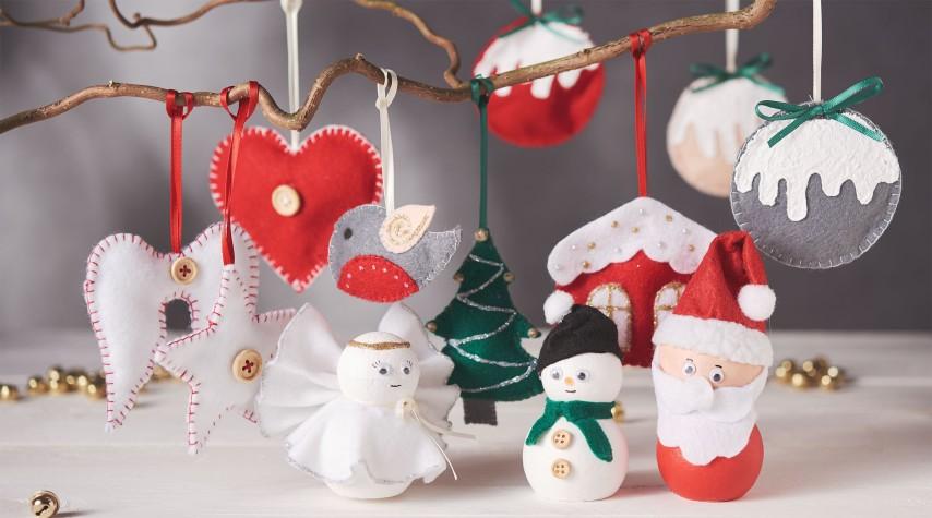 weihnachtsanh nger und figuren aus filz styropor vbs. Black Bedroom Furniture Sets. Home Design Ideas