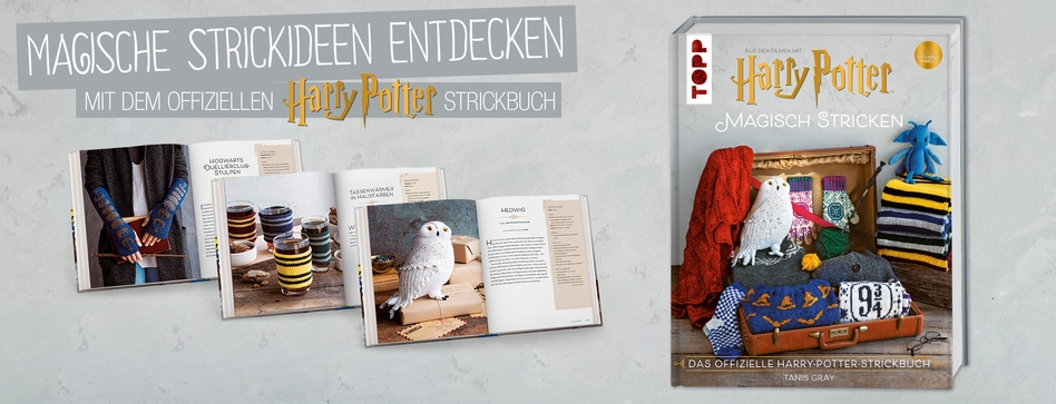 Buch Harry Potter magisch stricken
