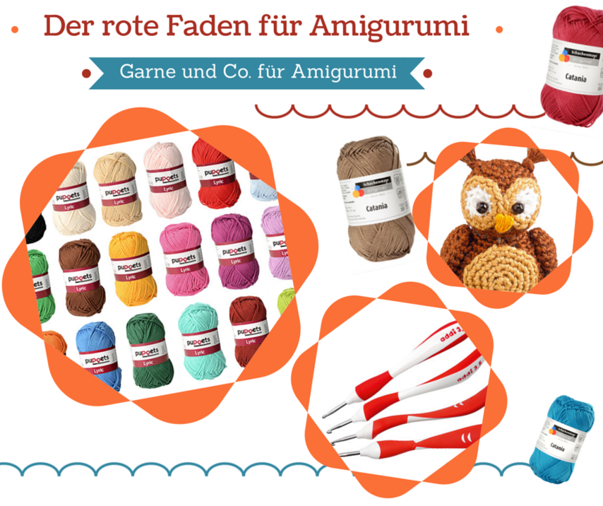 welche wolle und zubeh r f r amigurumi vbs hobby. Black Bedroom Furniture Sets. Home Design Ideas
