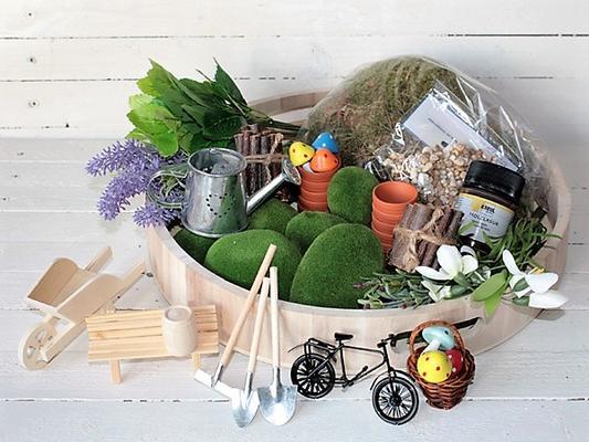 Mini-Garten selber gestalten - DIY VBS Hobby