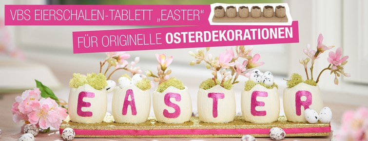 Eierschalen Tablett Easter