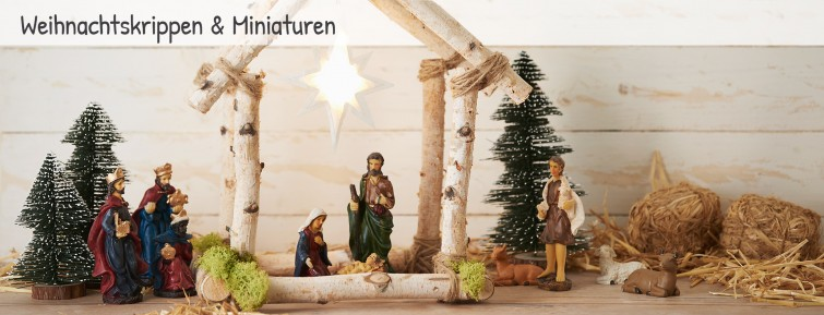 weihnachtskrippen miniaturen anl sse weihnachten vbs hobby. Black Bedroom Furniture Sets. Home Design Ideas