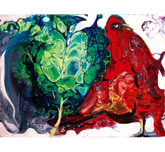"Buch Acrylic Pouring - Motivbilder ""VBS Aktions-Set"""