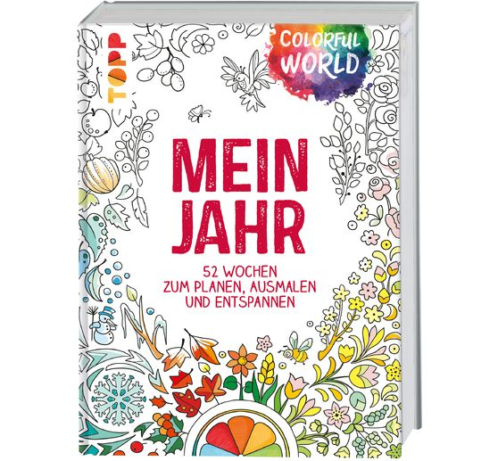 "Buch ""Colorful World: Mein Jahr"""