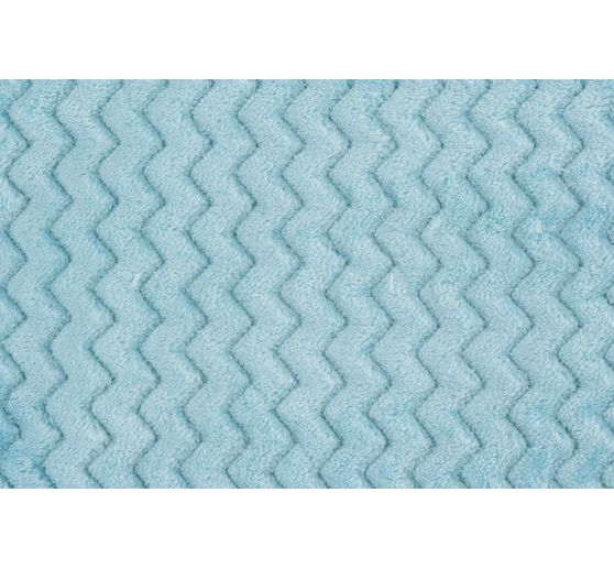 fleece stoff minky wave 150cm 280g m meterware vbs hobby bastelshop. Black Bedroom Furniture Sets. Home Design Ideas