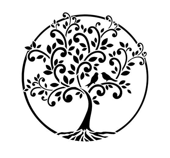 Baum Des Lebens Vorlage