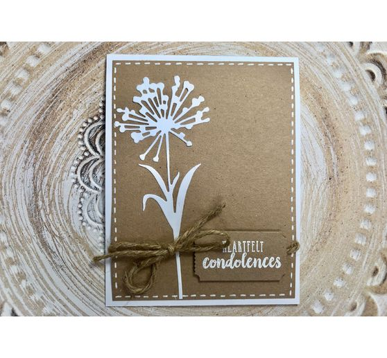 "Sizzix Thinlits Stanzschablone ""Wildflower Stems #1 by Tim Holtz"""